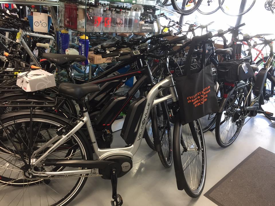 02 boutique spécialisée en vente de vélo à Colmar | Cycles et Sports 68