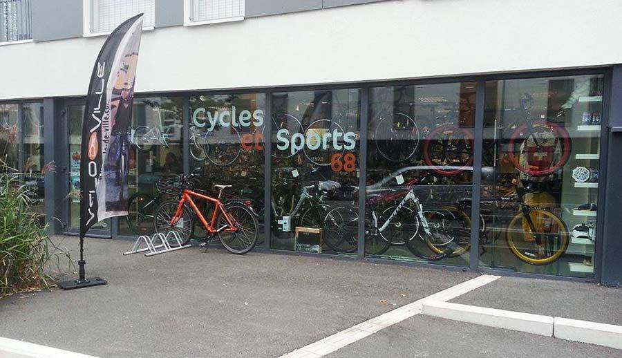 Découvrez dans notre magasin tout ce qui concerne le vélo à Colmar | Cycles et Sports 68